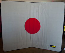 Rock Climbing Photo: My killer Organic Big pad.  48x60x5 inches of Japa...