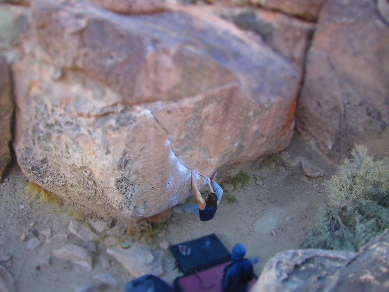 Rock Climbing Photo: Rio's Crack