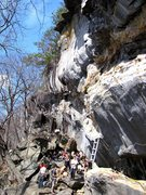 Rock Climbing Photo: Rumney - Waimea wall