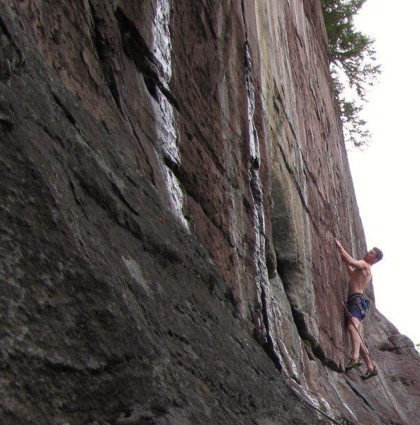 Rock Climbing Photo: Farley