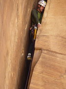 Rock Climbing Photo: finally got my whole body in the crack - Chrysler ...