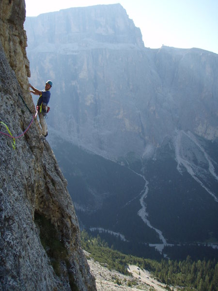 In the middle of the big traverse