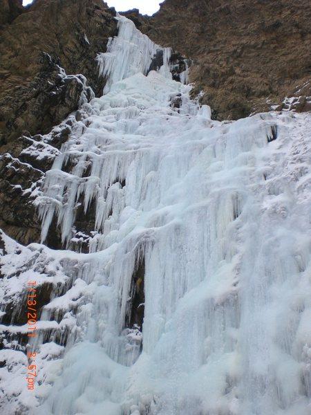 Rock Climbing Photo: Malan's / Frozen water fall melting.......