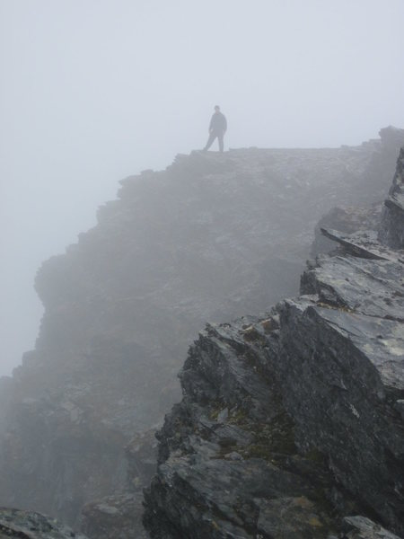 Rock Climbing Photo: First Ascent of Craven's Peak, Brooks Range, Alask...