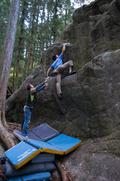 Rock Climbing Photo: I can not remember the name but a super fun mantel...