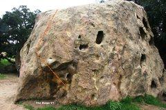 Rock Climbing Photo: Turlock South West Topo