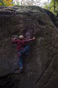 Rock Climbing Photo: Nobu climbing Haru Ichiban