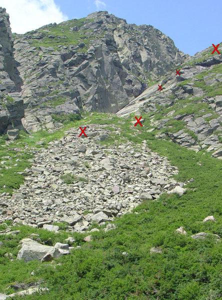 Rock Climbing Photo: Hunington Ravine