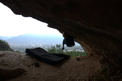 Rock Climbing Photo: The Cave.