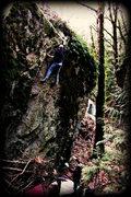 Rock Climbing Photo: Andrew Itkonan on grenels mother, jan '11