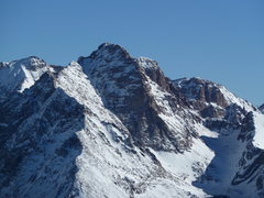 Rock Climbing Photo: Pigeon Peak from North Twilight.  Walls behind and...