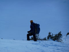 Rock Climbing Photo: Scoping the line.