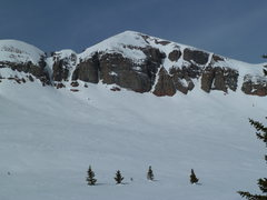 Rock Climbing Photo: West Turkshead Peak above Little Molas Lake.