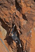 Rock Climbing Photo: Leading The Heavy Hitter