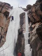 "Rock Climbing Photo: Beautiful plastic lead. Screws ""OK"", 22s..."