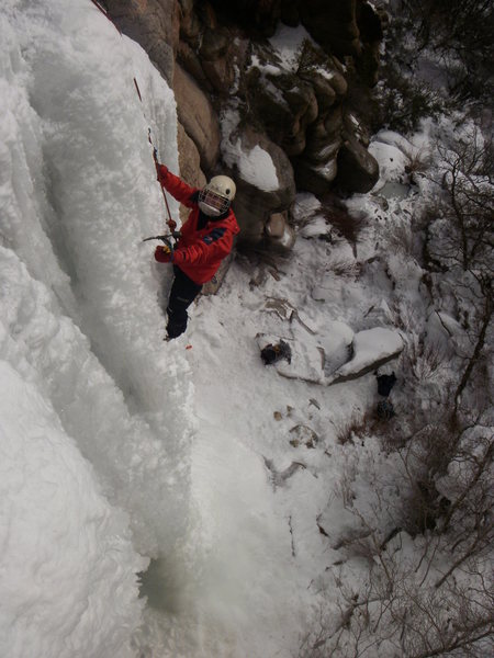 "Rock Climbing Photo: Lynda Chritensen, Montrose, ""This is some ste..."