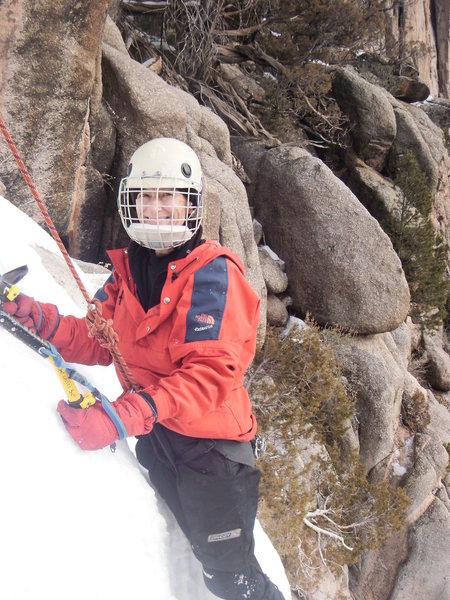 Rock Climbing Photo: HAPPY CLIMBER.