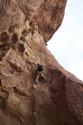 Rock Climbing Photo: Jake on Super Guide