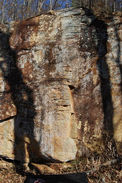 Rock Climbing Photo: Guilty as charged goes straight up the middle of t...