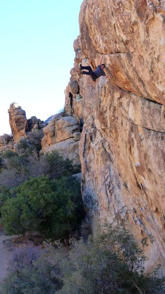 Rock Climbing Photo: Soloing Big Moe