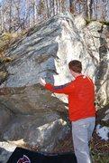 Rock Climbing Photo: Checking out the start of Ingrown Toenail