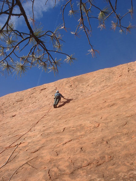 Rock Climbing Photo: Lee Rittenmeyer on Tempest Toast.