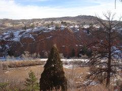 Rock Climbing Photo: Ripple in Winter.