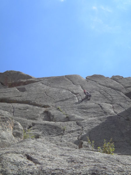 Rock Climbing Photo: somebody on cheap date.. great pitch!
