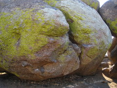 Rock Climbing Photo: The V4