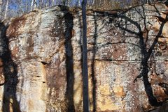 Rock Climbing Photo: Can't Stop Coffin is just to the right of the smal...