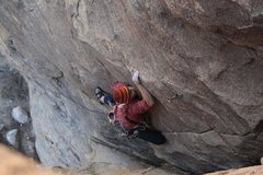 Rock Climbing Photo: Super slabby finish on some run out territory for ...