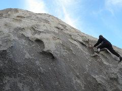 Rock Climbing Photo: Tucker Tech on B.P.