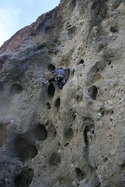 Rock Climbing Photo: Alabama from 1-15-11