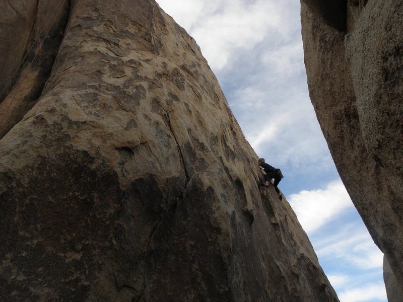 Rock Climbing Photo: Kurt Sanders on B.P.