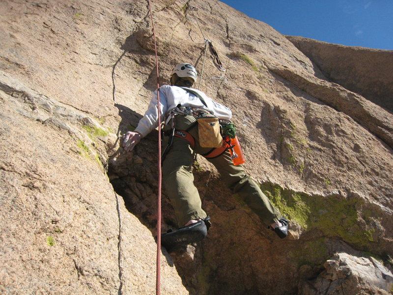 Rock Climbing Photo: ...vs boy beta