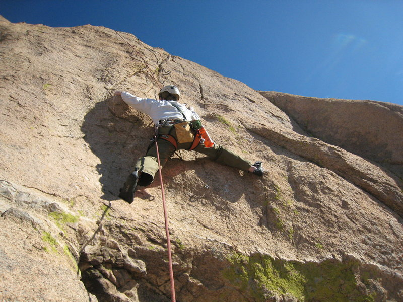 Rock Climbing Photo: This part looks more casual when he does it someho...