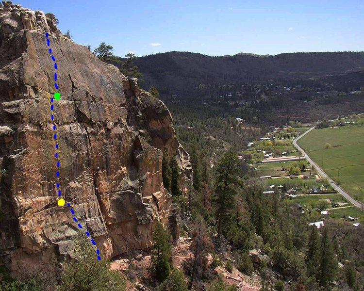 Rock Climbing Photo: Durangutan. Photo by MP contributor Bob Degray.  B...