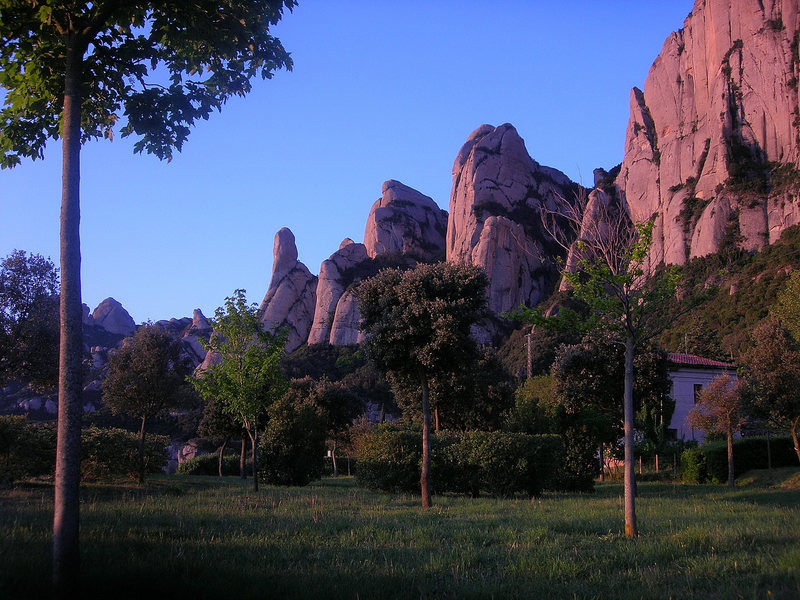 Montserrat at sunrise