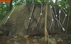 Rock Climbing Photo: Yosemite routes