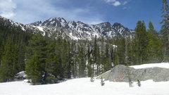 Rock Climbing Photo: Entering Wheeler Basin.