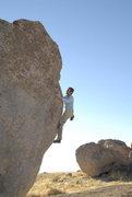 Rock Climbing Photo: v1 arete