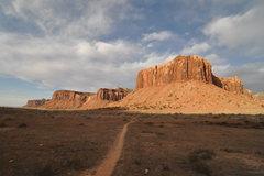 Rock Climbing Photo: the walk out