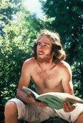 Rock Climbing Photo: Durangutan distracted by a  banana, Fall, 1977.