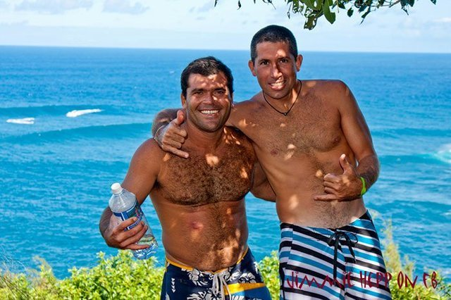 Marcio and Danilo<br> Photo: Jimmy Hepp