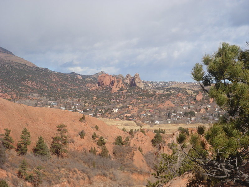 Rock Climbing Photo: The Garden from Red Rock Canyon.