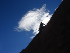 Rock Climbing Photo: Lee Rittenmeyer on Mister MIA.