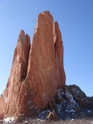 Rock Climbing Photo: The three towers of North Gateway Rock.