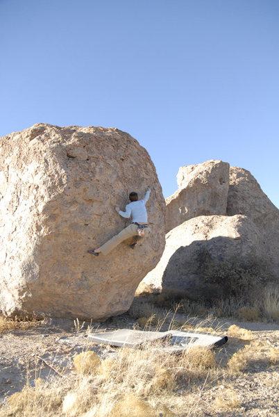 Rock Climbing Photo: Unknown problem #40