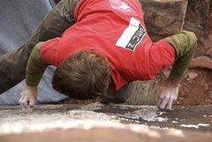 Rock Climbing Photo: new mexi slab