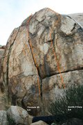 Rock Climbing Photo: North face Topo